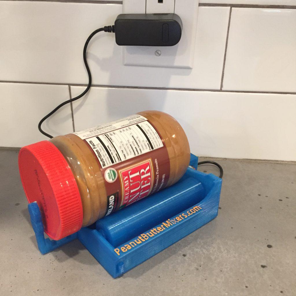 Peanut Butter Mixer with jar